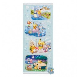 Face Towel Pikachu on Lapras japan plush