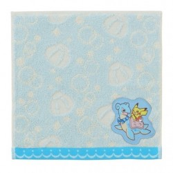 Hand Towel Pikachu on Lapras japan plush
