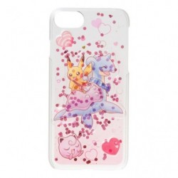 Smartphone Protection Rigide Rose Pikachu sur Lokhlass japan plush