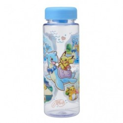 Clear Bottle Pikachu on Lapras japan plush