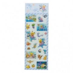 Seal Pikachu on Lapras japan plush