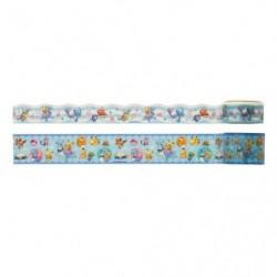 Tape Pikachu on Lapras japan plush