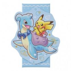 Memo Box Pikachu on Lapras japan plush