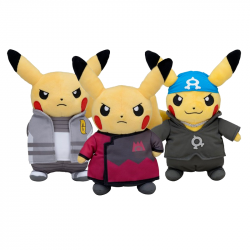 Pack Plush Pikachu Team SFP japan plush