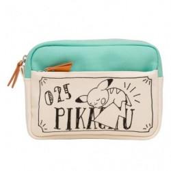 Pocket Case Pikachu drawing japan plush