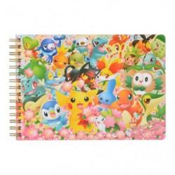 A5 Ring Note Pokemon Center 20th Anniversary japan plush
