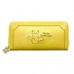 Zipper Wallet Yellow Pikachu Pokémon