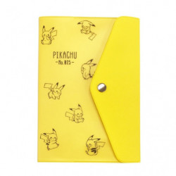 B6 Weekly Planner Button Pikachu number025