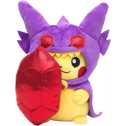Peluche Pikachu Poncho Ténéfix Pokémon