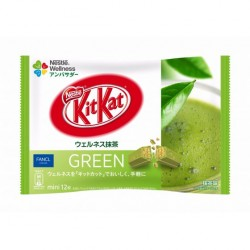 Kit Kat Mini Wellness GREEN japan plush