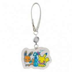 Pass Case Saiko Soda Pikachu Eevee