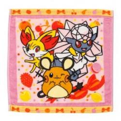 Hand Towel Dedenne Diancie Fennekin japan plush