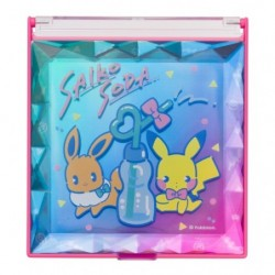Mirror Saiko Soda Pikachu Eevee japan plush