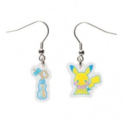 Earring Saiko Soda Pikachu japan plush