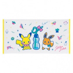 Mini Bath Towel Saiko Soda Pikachu Eevee japan plush