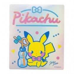 Sticker Saiko Soda Pikachu japan plush