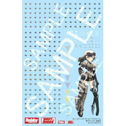 Accessory Eye Decal Set 01 Hand Scale Gourai Frame Arms Girl Plastic Model