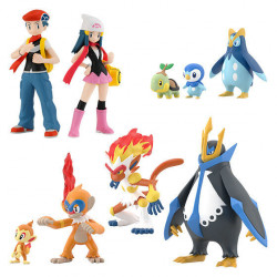 Figures Pokémon Scale World Sinnoh Regional Set