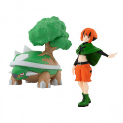 Figure Pokémon Gardenia Torterra Scale World Sinnoh