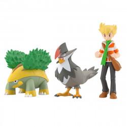 Figure Pokémon Jun Grotle Staraptor Scale World Sinnoh