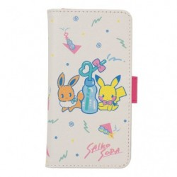 Smartphone Cover Saiko Soda Pikachu Eevee japan plush
