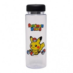 Clear Bottle Pokemon Dolls Pika Pokeball japan plush