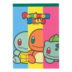 Memo Pokemon Dolls Charmander Bulbasaur Squirtle japan plush
