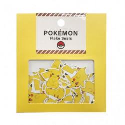 Stickers Pikachu POKEMON FLAKE SEALS