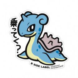 Sticker Lapras Big Pokémon B Side Label