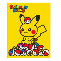 Post it Pokémon Dolls Pika Pokeball japan plush