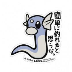 Sticker Dratini Big Pokémon B Side Label