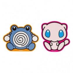Stickers Pokémon Dolls Poliwhirl Mew japan plush