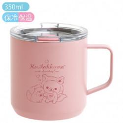 Mug Stainless Korilakkuma Strawberry Cat Rilakkuma