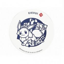 Glass Coaster Papercutting Eevee Pokémon