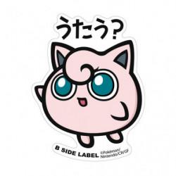 Sticker BIG Jigglypuff B-SIDE LABEL
