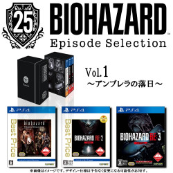 Game Biohazard Resident Evil 25th Anniversary Edition Vol.1 The Fall Of Umbrella PS4