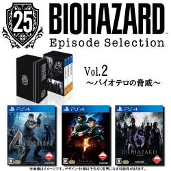 Game Biohazard Resident Evil 25th Anniversary Edition Vol.2 Threat Of Bioterrorism PS4