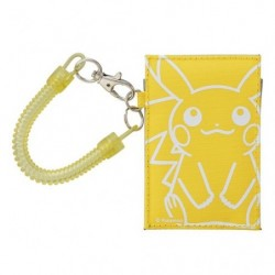 Pass Case Pikachu japan plush