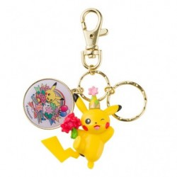 Figure Keychain Pikachu Pokemon Center 20th Annniversary japan plush