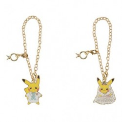 Pair Keychain Pikachu Precious Wedding japan plush