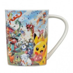 Mug Cup Pokemon Center 20th Anniversary japan plush