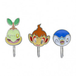 Clip Earrings Turtwig Chimchar Piplup Pokémon accessory