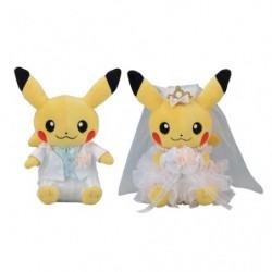 Peluche Pair Pikachu Precious Wedding japan plush