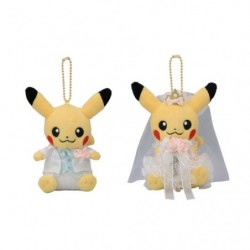 Mascot Pikachu Pair Precious Wedding japan plush