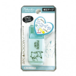 Correction Tape Green Pikachu number025