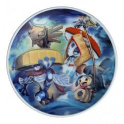 Plate Poke Yako Greninja japan plush