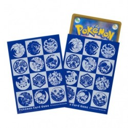 Card Sleeves Poke Yako Blue White japan plush