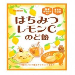Throat Sweets Honey Lemon C Large Pack KANRO