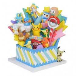Special Figure Clock Pokemon 20th Anniversary japan plush