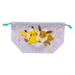 Bento Bag Pikachu Eevee Friends japan plush
